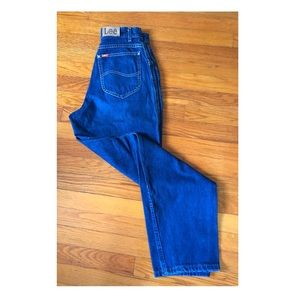 80s 90s High Waisted Tapered Mom Jeans